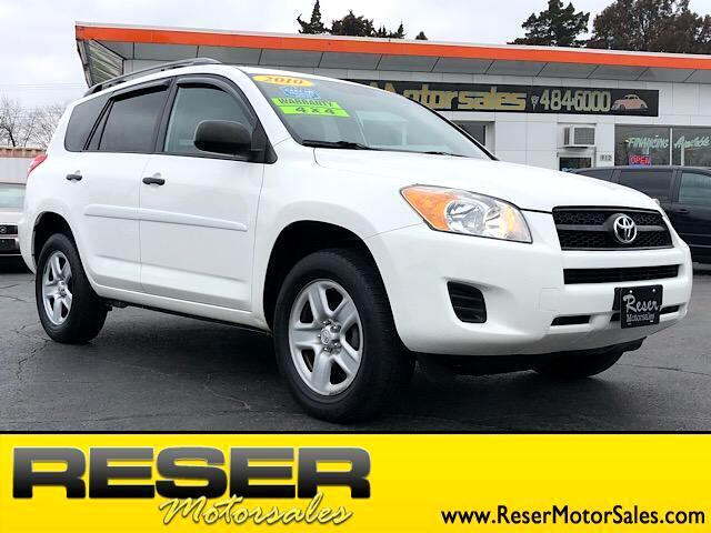 2010 Toyota RAV4 RAV4 - 4WD 4dr 4-cyl 4-Spd AT