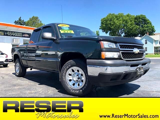 "2007 Chevrolet Silverado Classic 1500 4WD Ext Cab 143.5"" Work Truck"