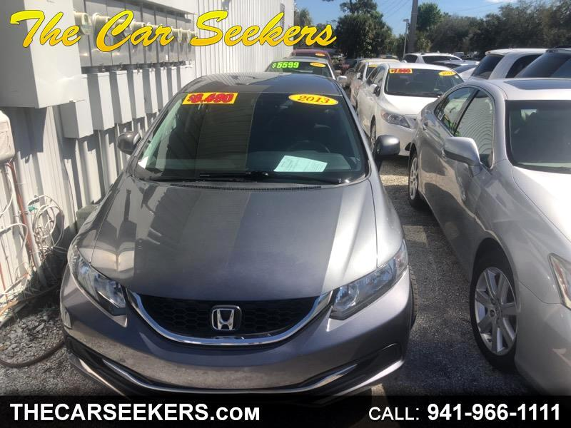 Honda Civic LX Sedan 5-Speed AT 2013