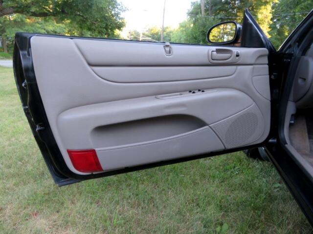 2003 Chrysler Sebring LXi Convertible
