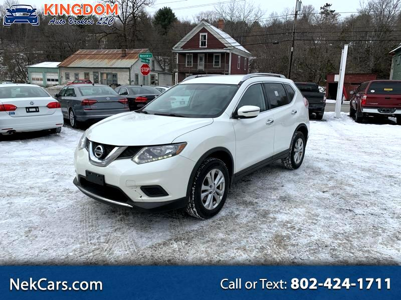 Nissan ROGUE S/SV  2016