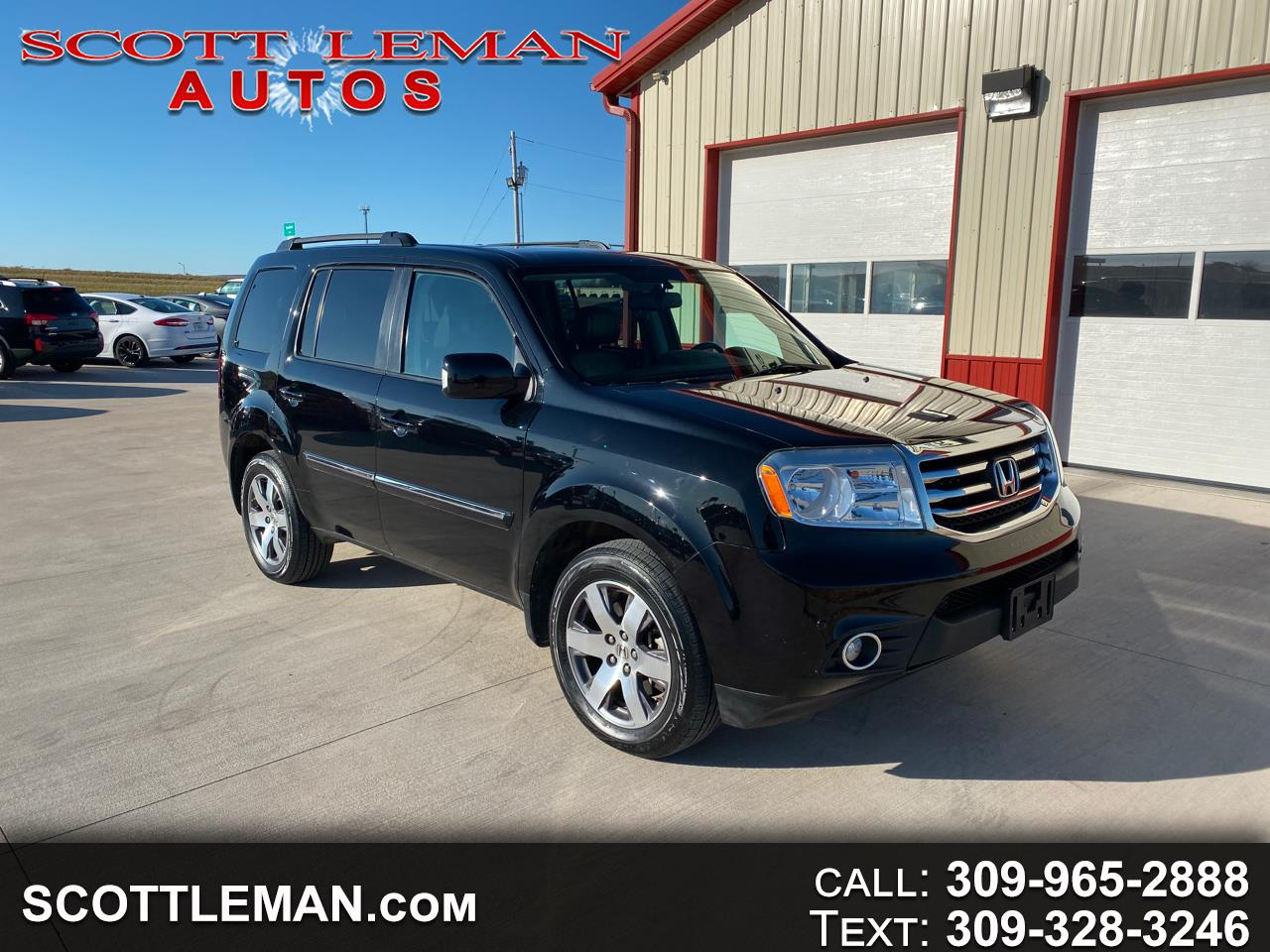 Honda Pilot Touring 4WD 5-Spd AT with DVD 2015