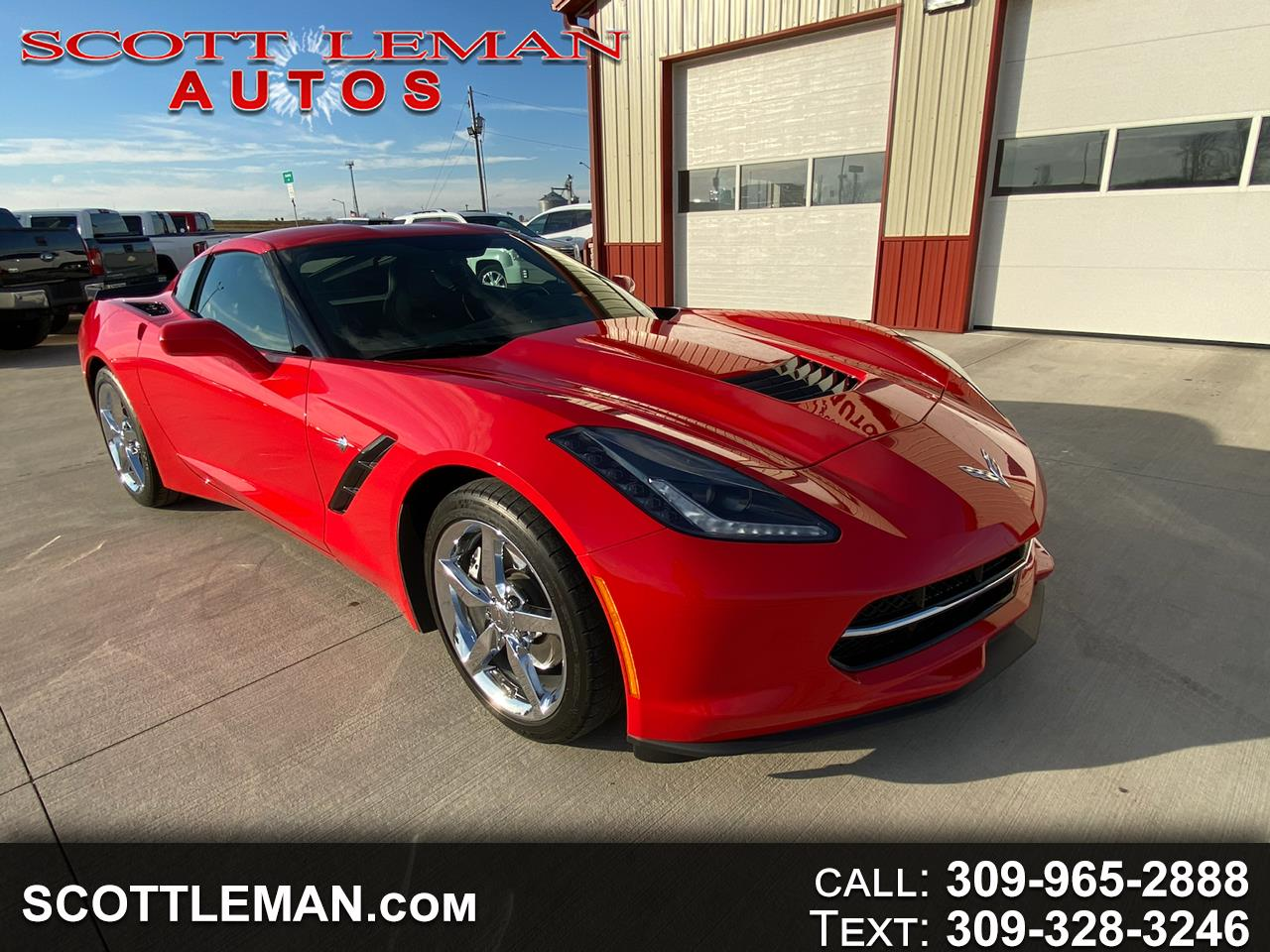 Chevrolet Corvette 1LT Coupe Manual 2015
