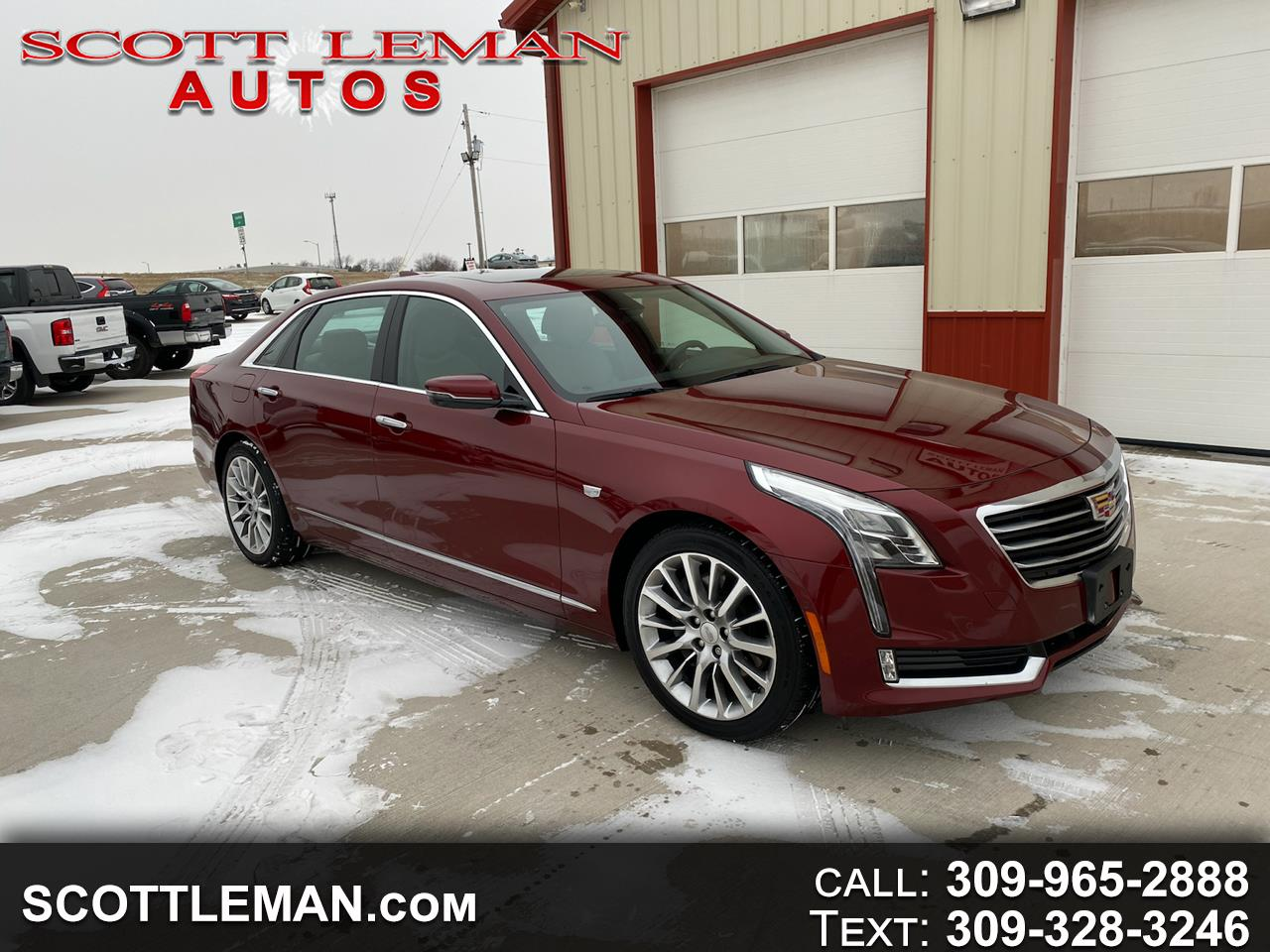 Cadillac CT6 3.0L Premium Luxury Twin Turbo AWD 2016