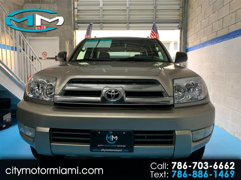 2004 Toyota 4Runner 4dr SR5 V6 Auto (Natl)