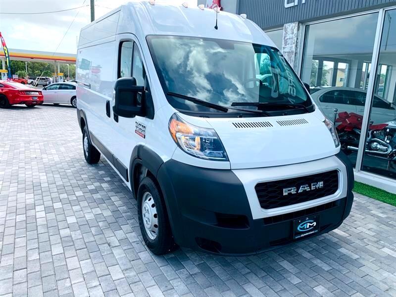 "RAM ProMaster Cargo Van 1500 High Roof 136"" WB 2020"