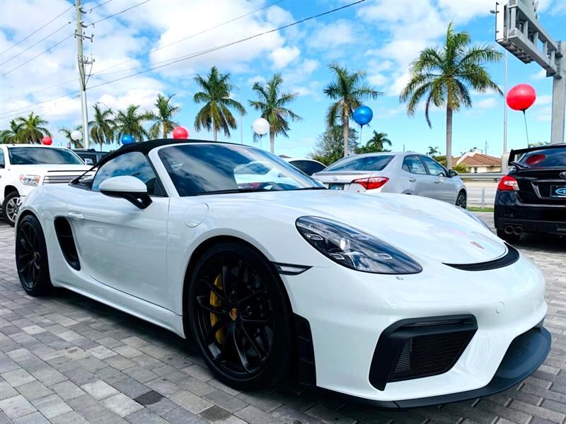 Porsche Spyder  2021
