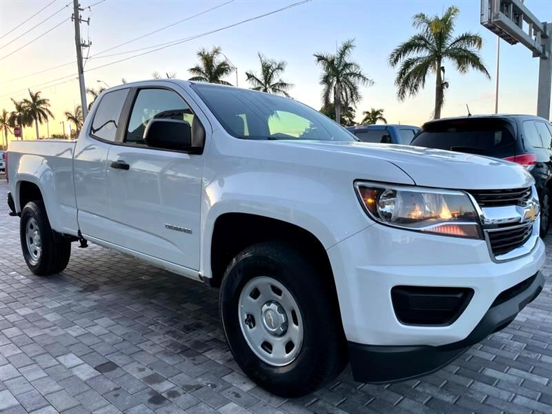 "Chevrolet Colorado 2WD Ext Cab 128.3"" WT 2016"