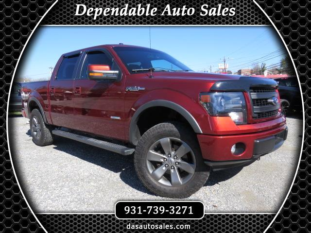 "2014 Ford F-150 SuperCrew Crew Cab 139"" Lariat 4WD"