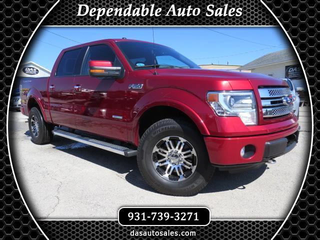 """2013 Ford F-150 4WD SuperCrew 145"""" Limited"""