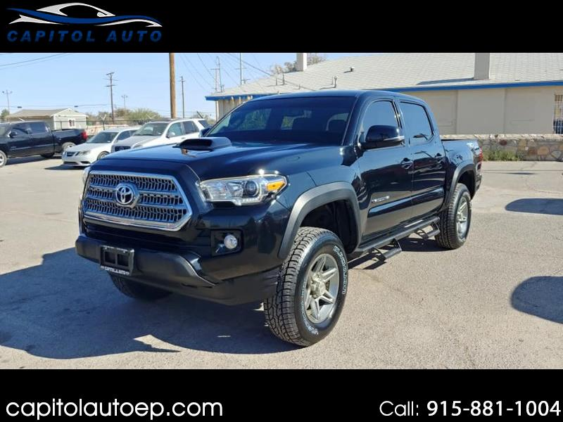 2017 Toyota Tacoma SR5 TRD Offroad Double Cab V6 AT 4WD