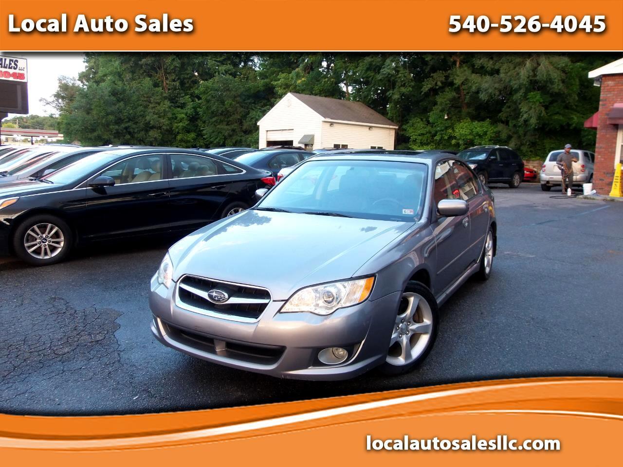 Subaru Legacy (Natl) 4dr H4 Auto Ltd 2008