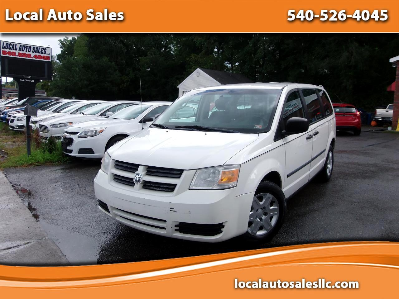 """Dodge Grand Caravan C/V 119"""" WB 2008"""