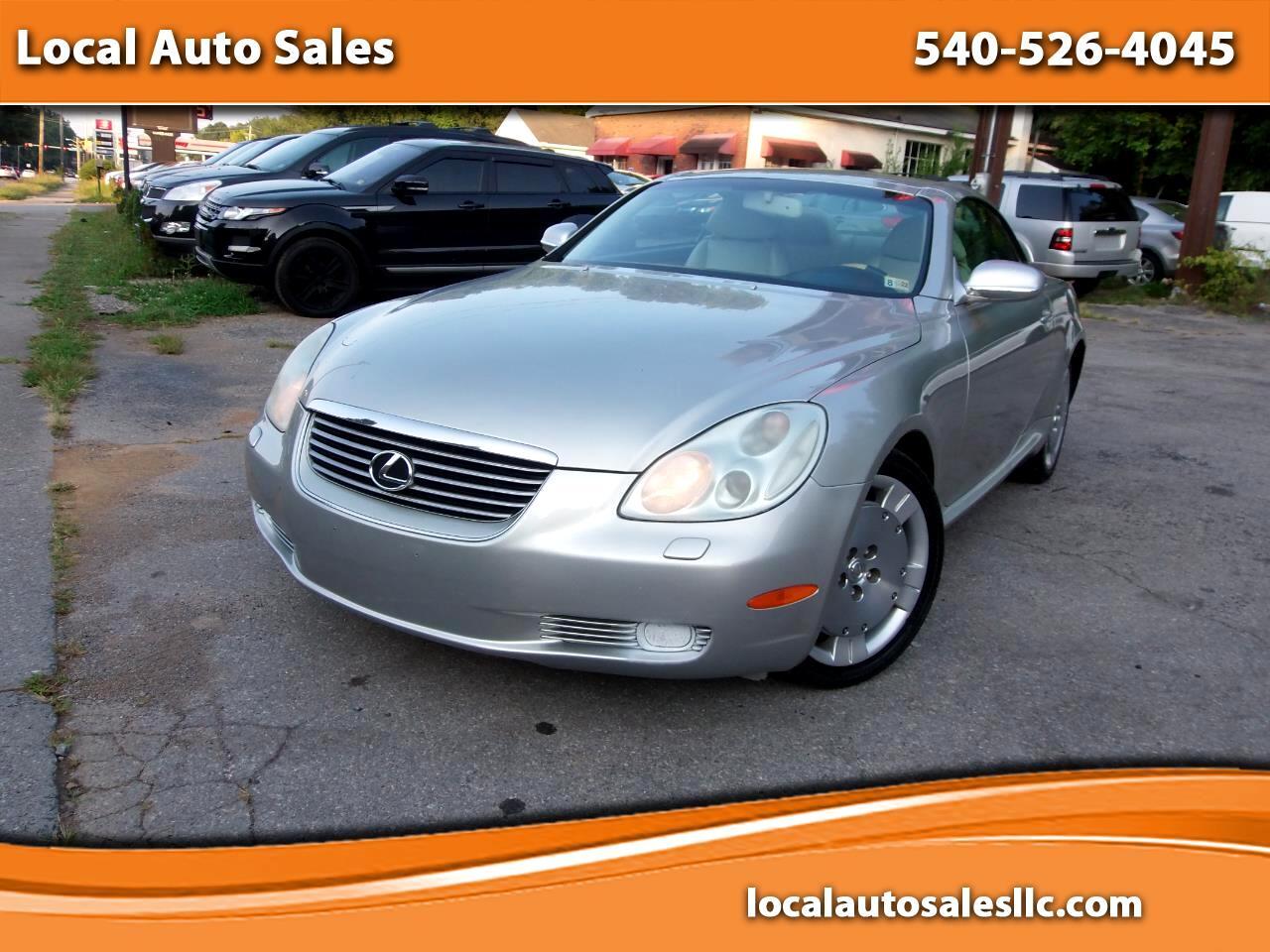 Lexus SC 430 2dr Convertible 2003