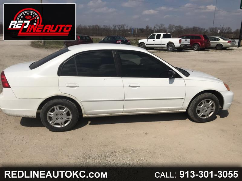 2002 Honda Civic LX sedan