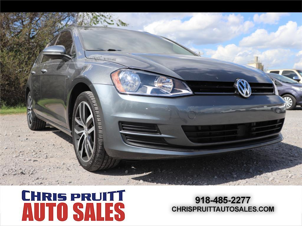 used 2016 volkswagen golf sportwagen 4dr auto tsi limited edition for sale in wagoner ok 74467. Black Bedroom Furniture Sets. Home Design Ideas
