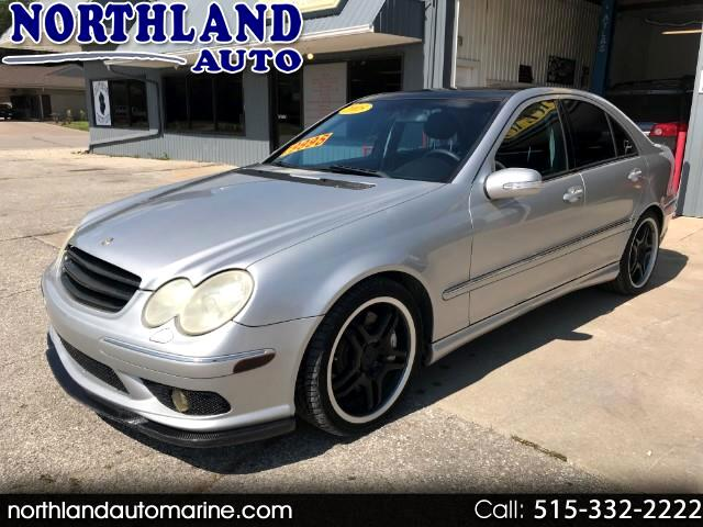 2005 Mercedes-Benz C-Class C55 AMG Sport Sedan