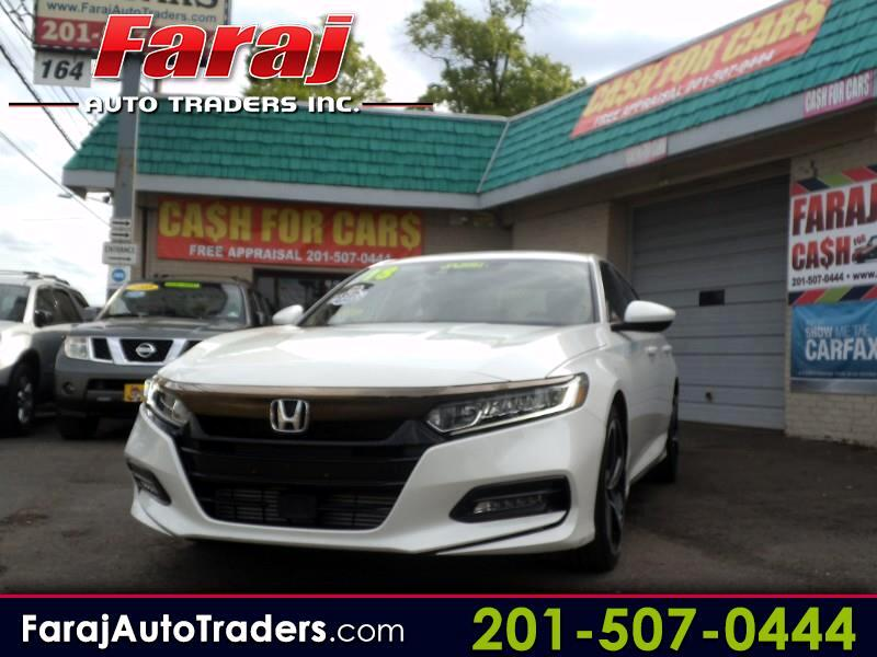 2018 Honda Accord Sport Sedan AT