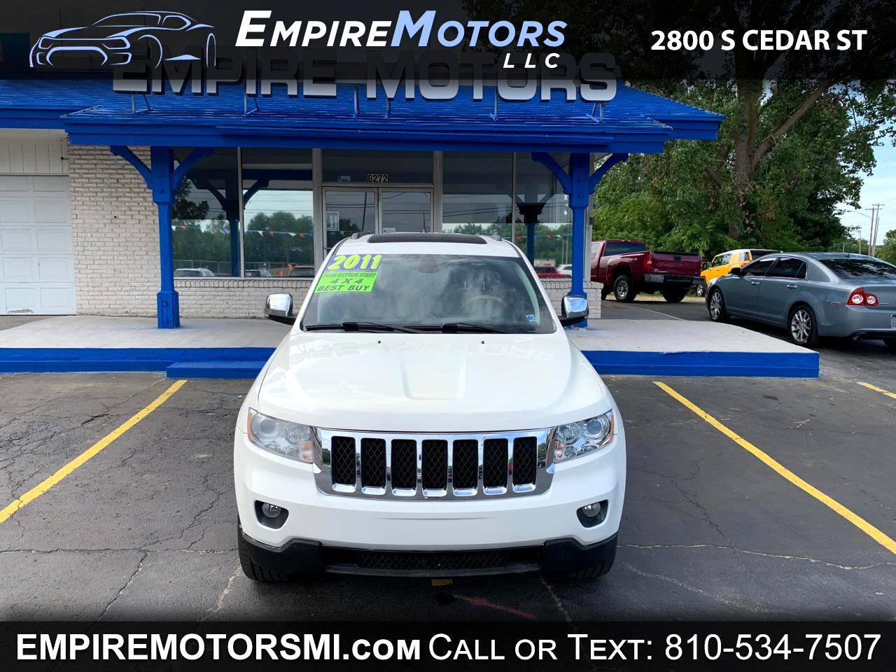 2011 Jeep Grand Cherokee 4dr Limited 4WD