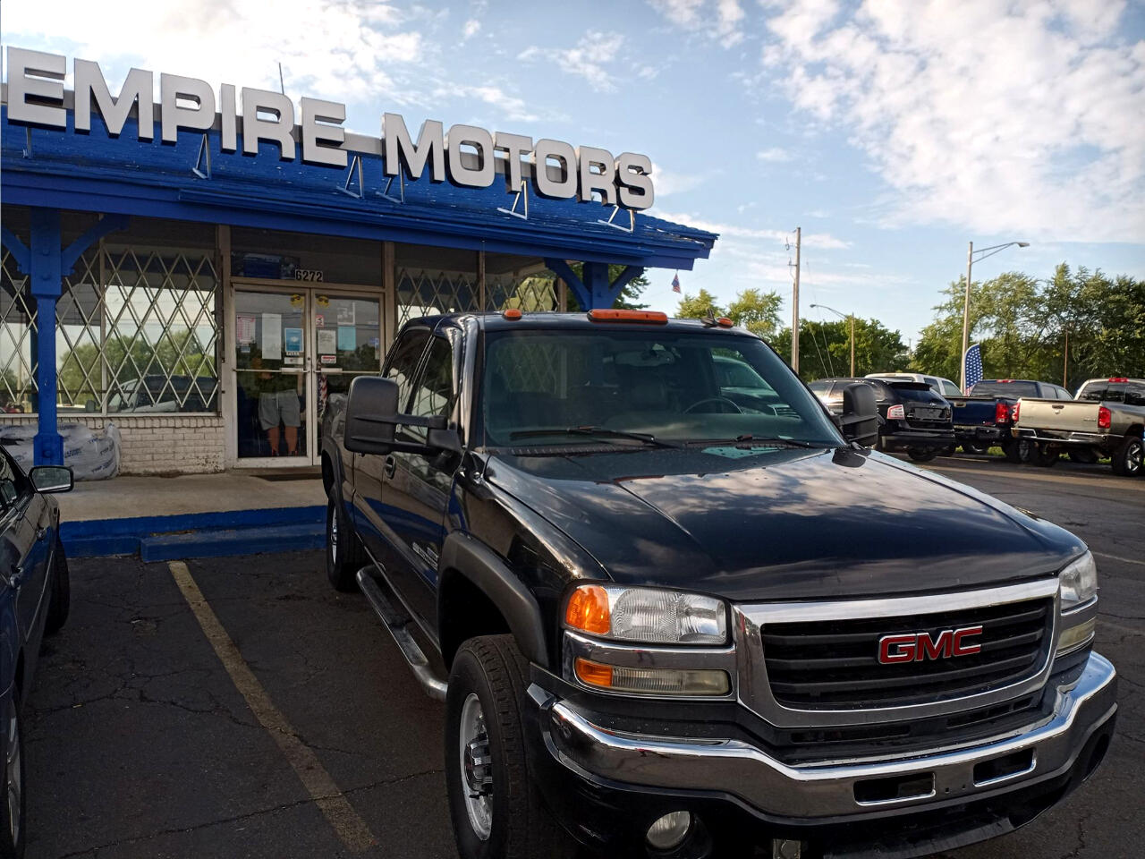 GMC Sierra Classic 2500HD Work Truck Crew Cab Long Box 4WD 2007