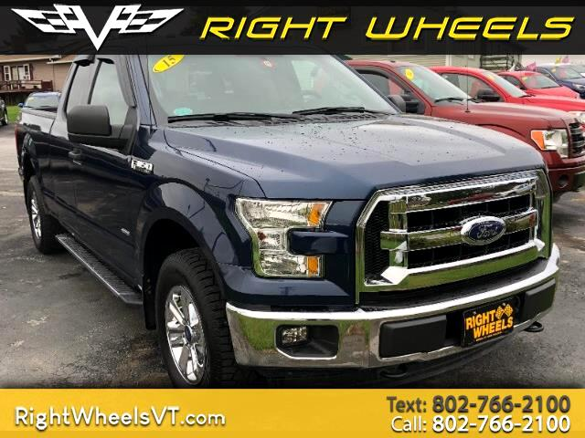 2015 Ford F-150 XLT 4WD SuperCab 6.5' Box