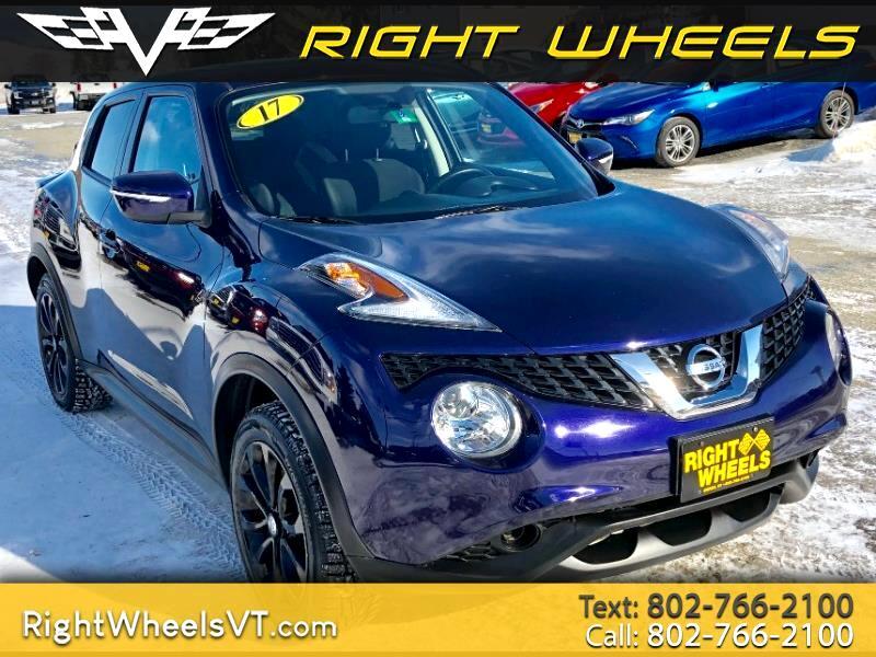 2017 Nissan Juke AWD SV