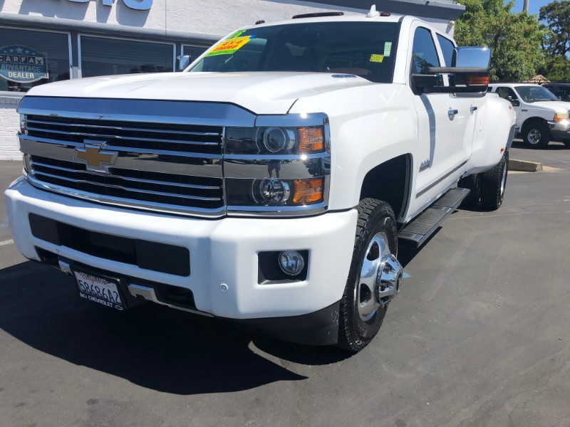 "Chevrolet Silverado 3500HD 4WD Crew Cab 167.7"" High Country 2016"