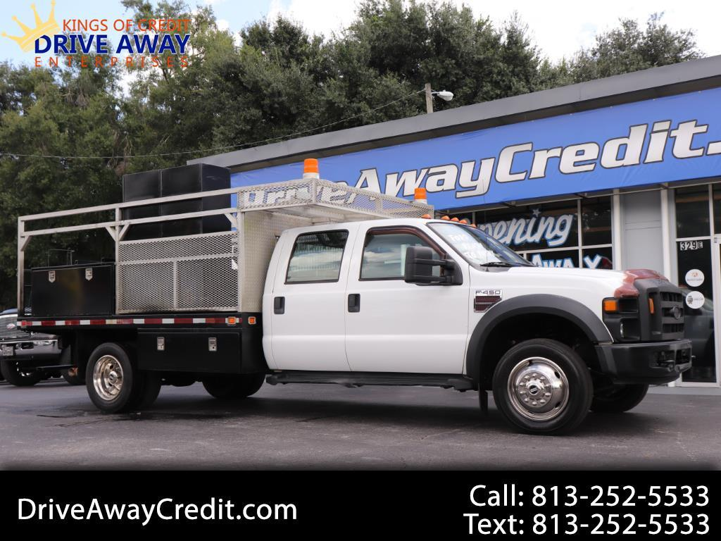 "2008 Ford Super Duty F-450 DRW 2WD Crew Cab 176"" WB 60"" CA XL"