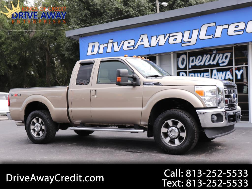 "2011 Ford Super Duty F-250 SRW 4WD SuperCab 142"" Lariat"