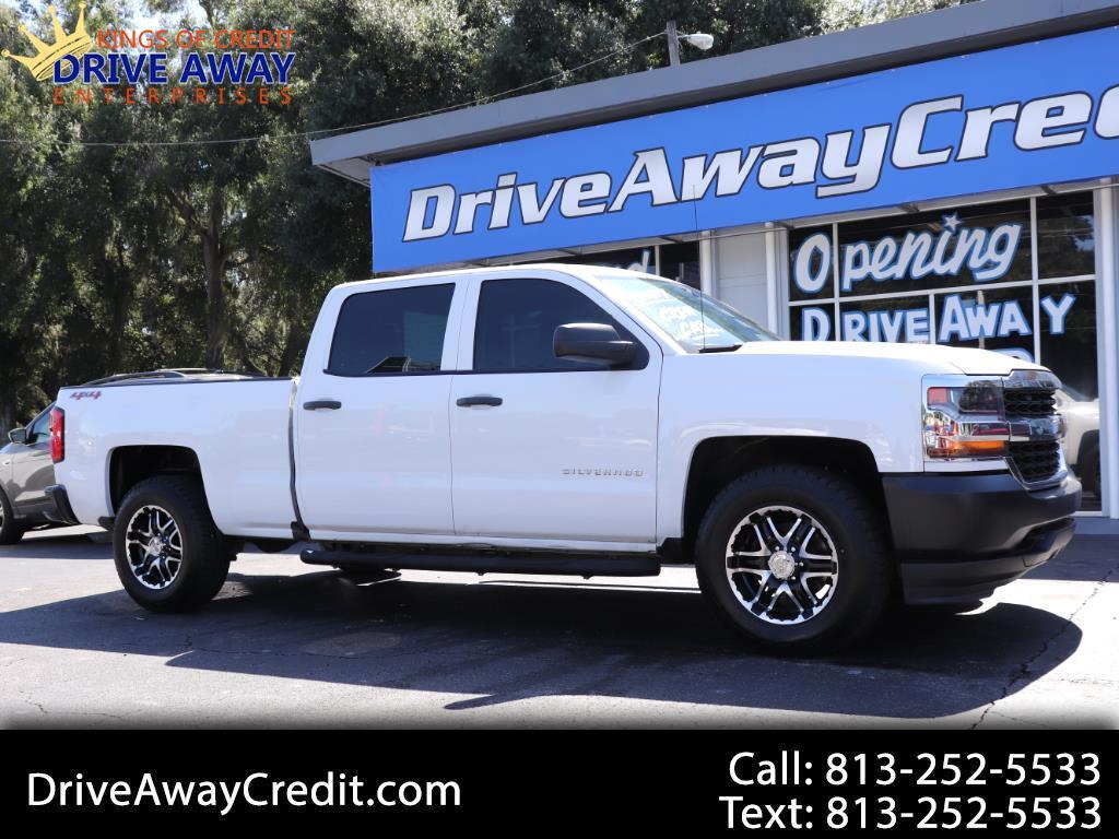 "2016 Chevrolet Silverado 1500 4WD Crew Cab 153.0"" Work Truck"