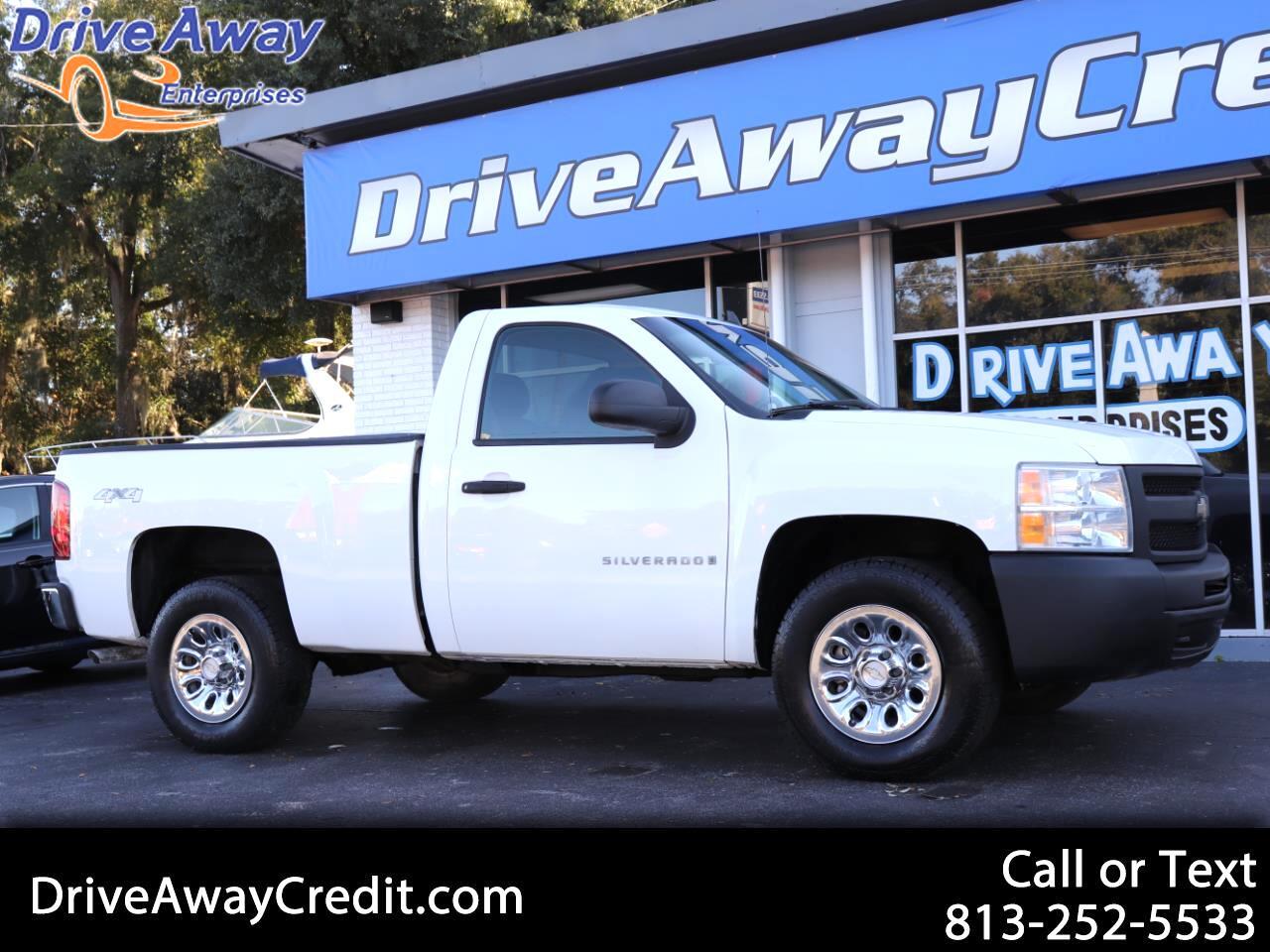 """2009 Chevrolet Silverado 1500 4WD Reg Cab 119.0"""" Work Truck"""