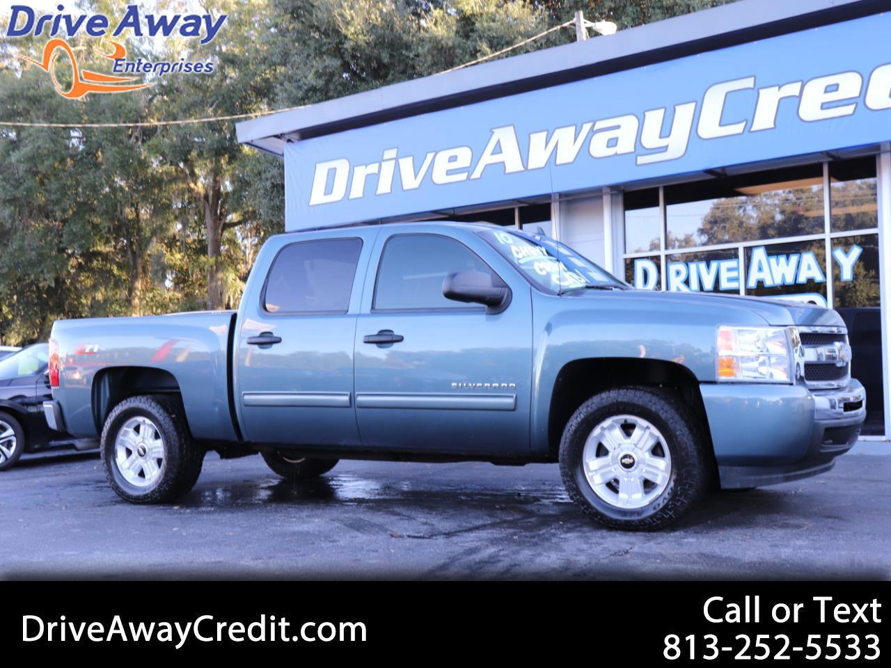 """2010 Chevrolet Silverado 1500 2WD Crew Cab 143.5"""" LT"""