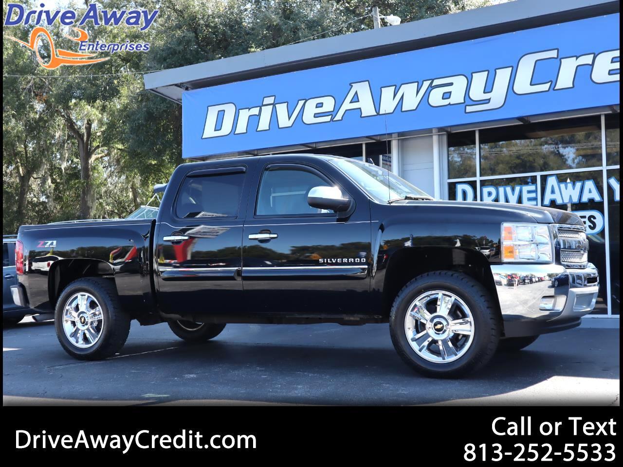 """2012 Chevrolet Silverado 1500 2WD Crew Cab 143.5"""" LT"""