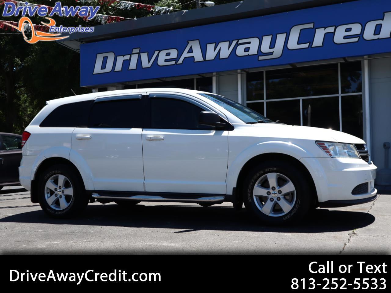 2013 Dodge Journey FWD 4dr American Value Pkg