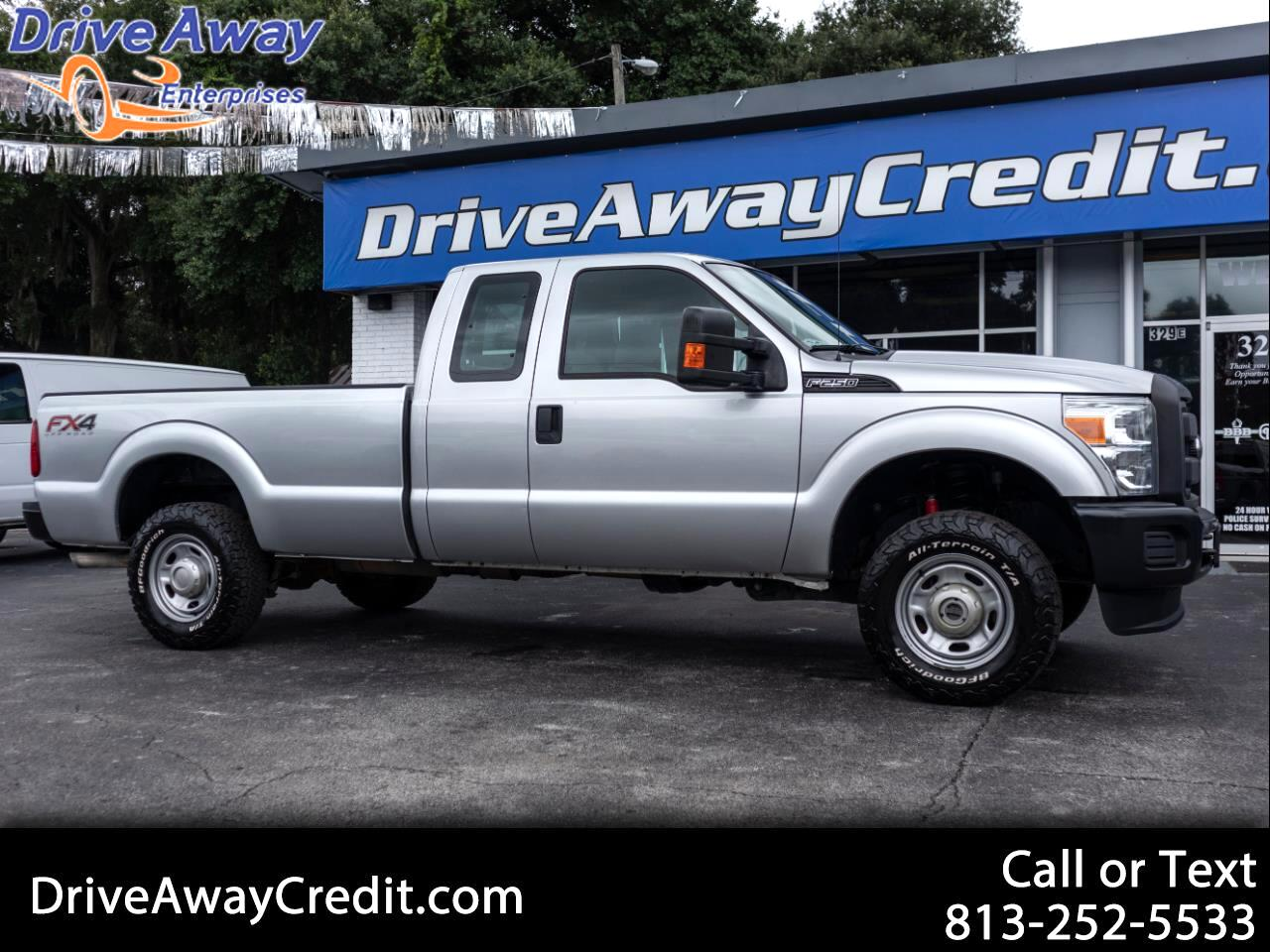 "2015 Ford Super Duty F-250 SRW 4WD SuperCab 158"" XL"