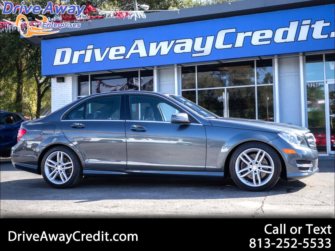 Mercedes-Benz C-Class 4dr Sdn C 300 Luxury 4MATIC 2013