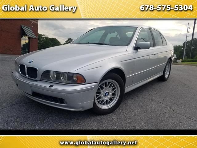 2001 BMW 5-Series 525i