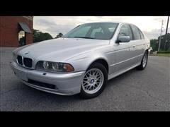 2001 BMW 5-Series