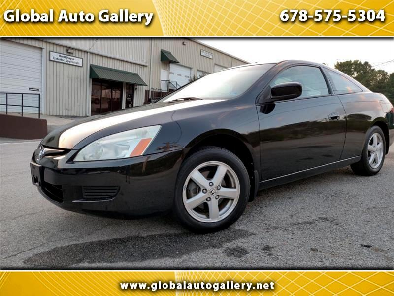 2005 Honda Accord EX Coupe with Leather and XM Radio