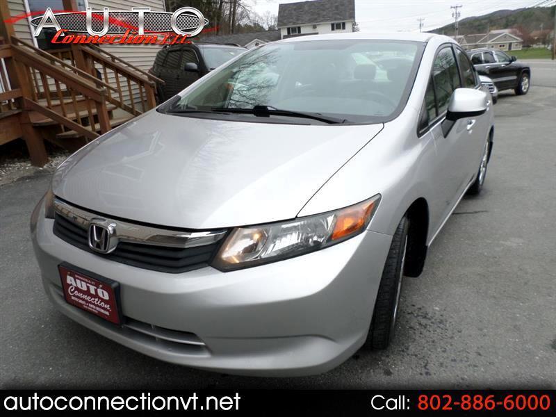 Honda Civic LX Sedan 5-Speed AT 2012