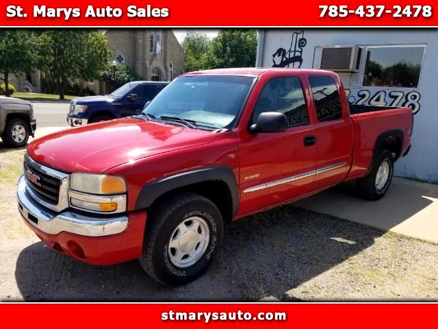 2004 GMC Sierra 1500 SLE Ext. Cab Long Bed 4WD