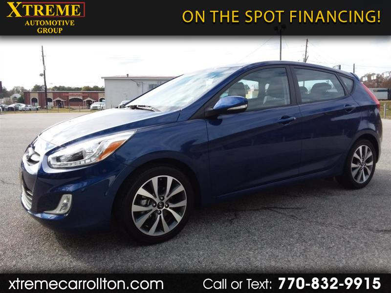 2017 Hyundai Accent Sport 5-Door 6A