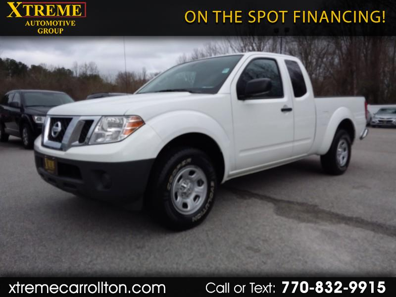 Nissan Frontier 2WD King Cab I4 Auto S 2016