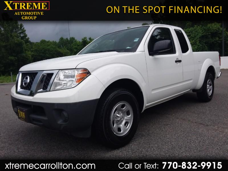 Nissan Frontier 2WD King Cab I4 Auto S 2015