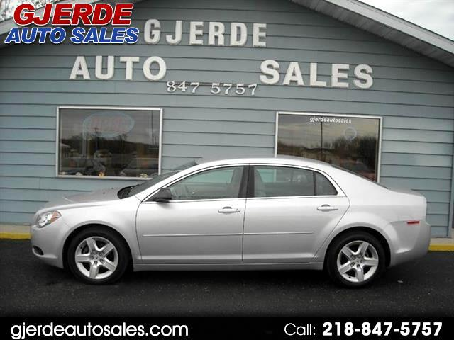 used 2012 chevrolet malibu fleet for sale in detroit lakes mn 56501 gjerde auto sales. Black Bedroom Furniture Sets. Home Design Ideas