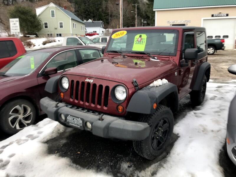 2010 Jeep Wrangler 2dr Sport