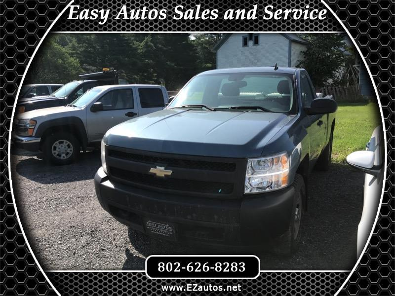 2007 Chevrolet Silverado 1500 LS Regular Cab Long Bed 4WD