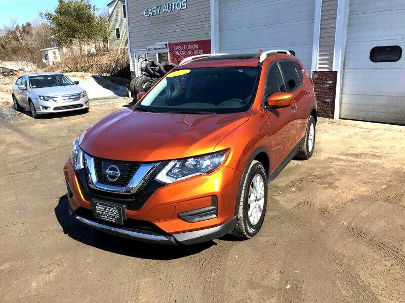 Nissan ROGUE S/SV  2017