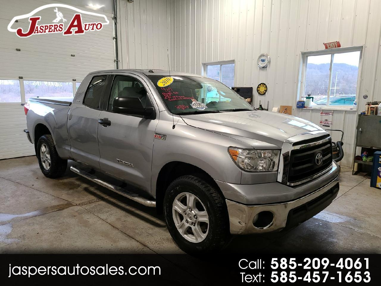 Toyota Tundra 4WD Truck Dbl 5.7L V8 6-Spd AT (Natl) 2010