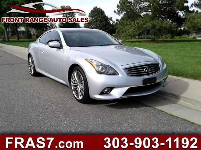 2013 Infiniti G Coupe G37 Journey